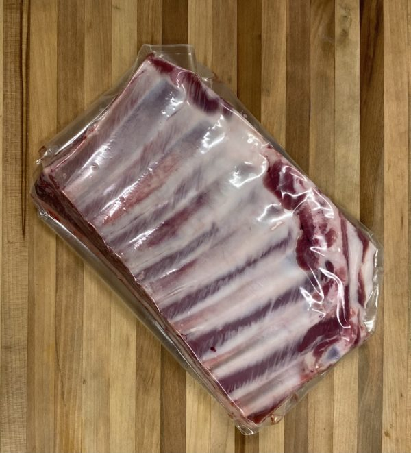 Lamb denver style rib