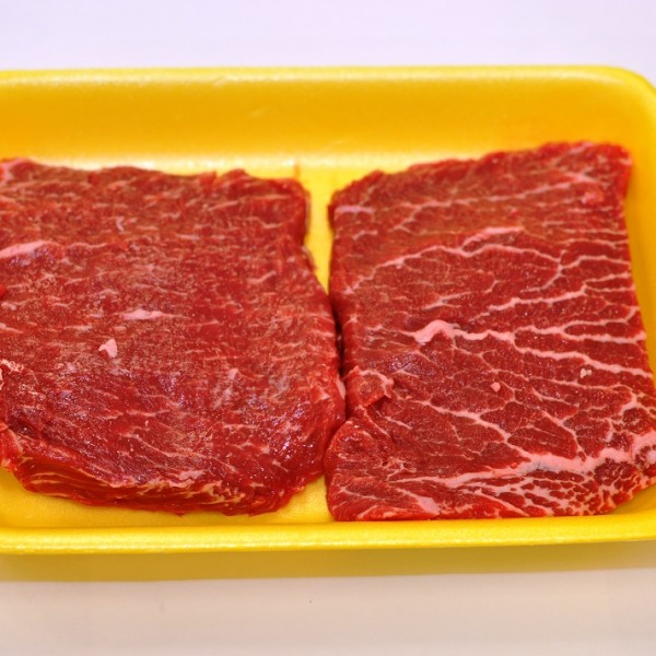 Beef Chuck Top Blade Steak (Flat Iron) (2)