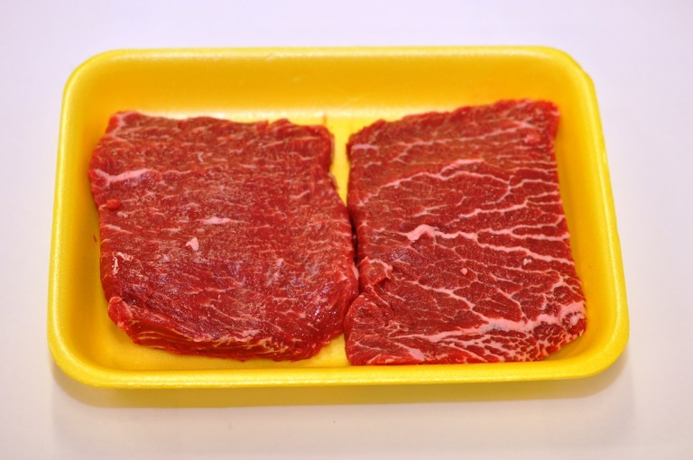 Beef Chuck Top Blade Steak (Flat Iron) (2)